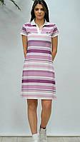 """Сукня жіноча в широку смужку ,(3ол.) розміри S-2XL """"GEREKLI"""" недорого від прямого постачальника"""