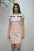 """Сукня жіноча в смужку ,(3ол.) розміри S-2XL """"GEREKLI"""" недорого від прямого постачальника"""