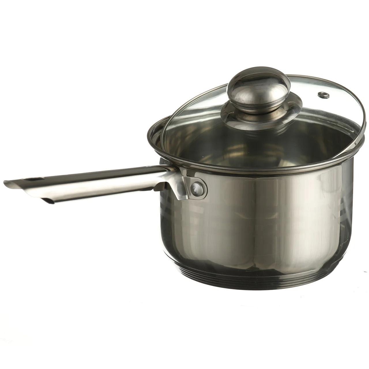 Ковш кухонный сотейник с крышкой A-PLUS 2.1 л