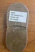 Формовка bsk премиум качество 92mmX90X6,5mm , цвет #75темный-карамель