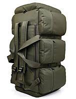 Сумка-рюкзак тактическая xs-90l3 олива, 90 л