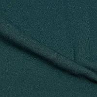 Костюмна тканина, креп-костюмка Флорида, темно-зелений
