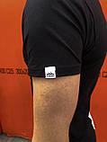 Комплект футболка +шорты  Pobedov Segmentation черно-белый вертикаль, фото 3