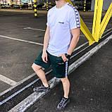 Літній спортивний костюм чоловічий (комплект речей) Adidas, фото 2