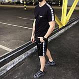 Летний спортивный костюм мужской (комплект вещей) Adidas, фото 2