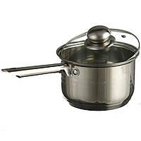 Ковш кухонный сотейник с крышкой A-PLUS 2.1 л, фото 1