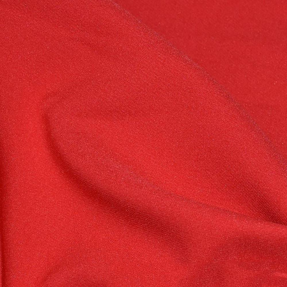 Костюмна тканина, креп-костюмка Флорида, червоний