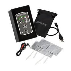 Електростимулятор ElectraStim Flick EM60-E, реагування на струшування пультом, простий в управлінні