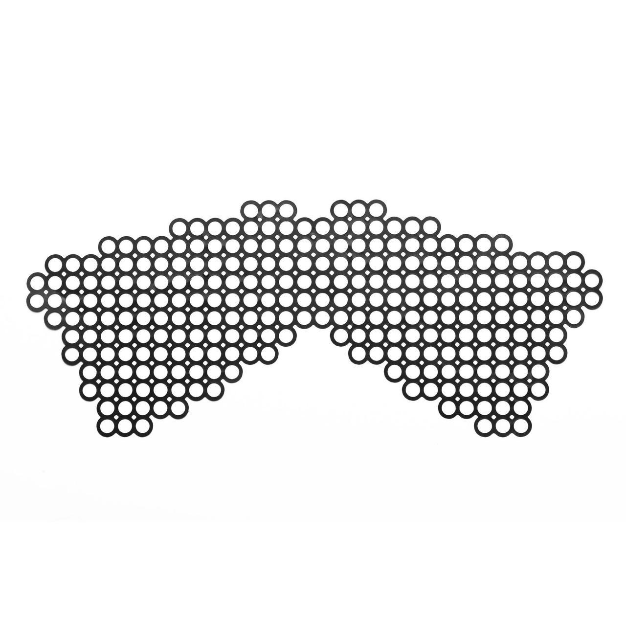 Маска на обличчя Bijoux Indiscrets - Erika Mask, вінілова, клейове кріплення, без зав'язок