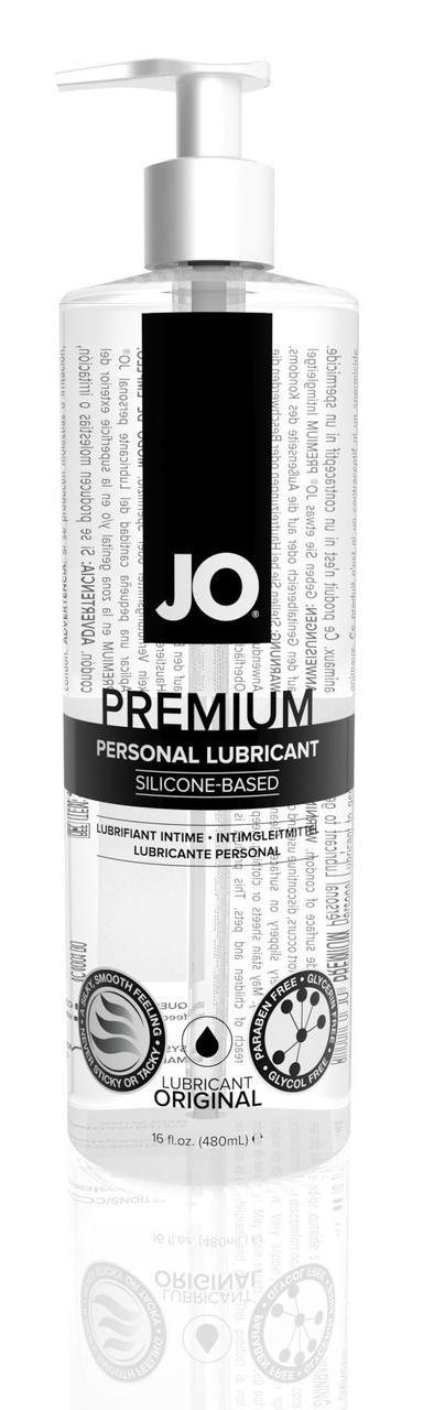 Лубрикант на силиконовой основе System JO PREMIUM - ORIGINAL (480 мл) без консервантов и отдушек