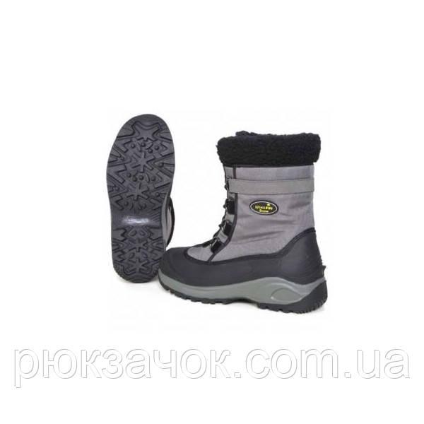 Сапоги зимние Norfin Snow Gray (-20*) . Теплая удобная обувь для рыбаков, охотников и активного отдыха