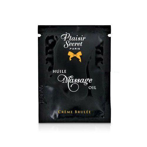 Пробник масажного масла Plaisirs Secrets Creme Brulee (3 мл)