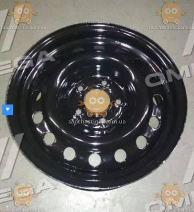 Диск колесный R16х6,5 5х115 ET41 DIA 70,3 CHEVROLET Orlando, OPEL Astra (черный) (пр-во ДК), фото 2