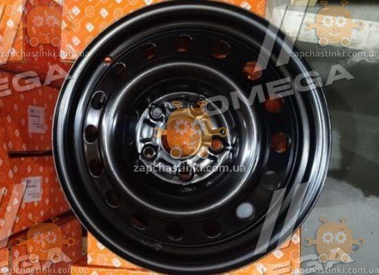 Диск колесный R16х6,5 5х120 ET51 DIA 65,1 VolksWagen T5 Multivan, Transporter (черный) (пр-во ДК)