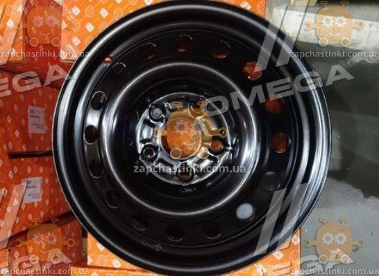 Диск колесный R16х6,5 5х120 ET51 DIA 65,1 VolksWagen T5 Multivan, Transporter (черный) (пр-во ДК), фото 2
