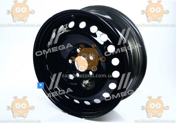 Диск колесный R16х6,5 5х108 ET52,5 DIA63,4 Ford Focus, C-Max, Mondeo, Kuga, Jaguar X-Type (черный) (пр-во ДК)