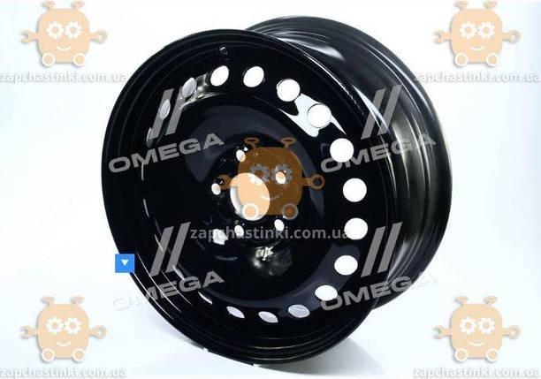 Диск колесный R16х6,5 5х108 ET52,5 DIA63,4 Ford Focus, C-Max, Mondeo, Kuga, Jaguar X-Type (черный) (пр-во ДК), фото 2