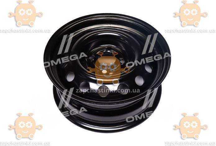 Диск колесный R14x5,5 4x100 ET35 DiA 57,1 VolksWagen (черный) (пр-во ДК)