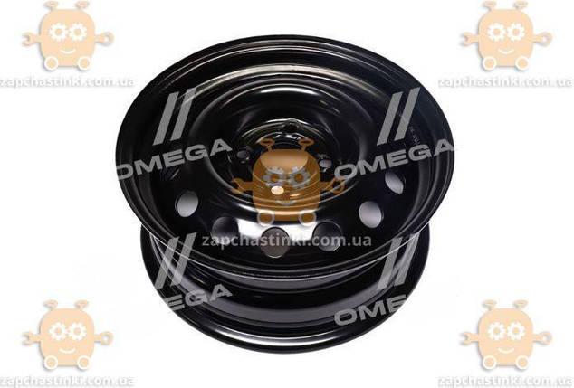 Диск колесный R14x5,5 4x100 ET35 DiA 57,1 VolksWagen (черный) (пр-во ДК), фото 2