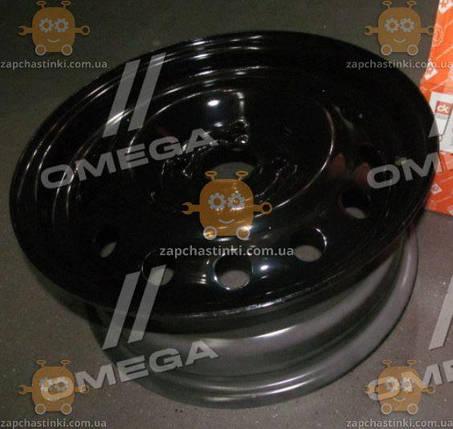 Диск колесный R14x5,5 4x108 ET24 DIA 65,1 Citroen Berlingo, C2, ZX/ZX Break, Samand, Pegeot 206, 106 (черный) (пр-во ДК), фото 2