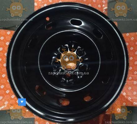 Диск колесный R15x6 5x100 ET38 DiA 57,1 Chrysler Seat Skoda VolksWagen (и другие в описании) (черный) (пр-во, фото 2