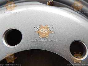 Диск колесный Газель IVECO САМЫЙ МОЩНЫЙ 8мм толщина стенки 1250кг нагр. 15кг (ДК) (Продажа от 2шт) 69311189428, фото 3