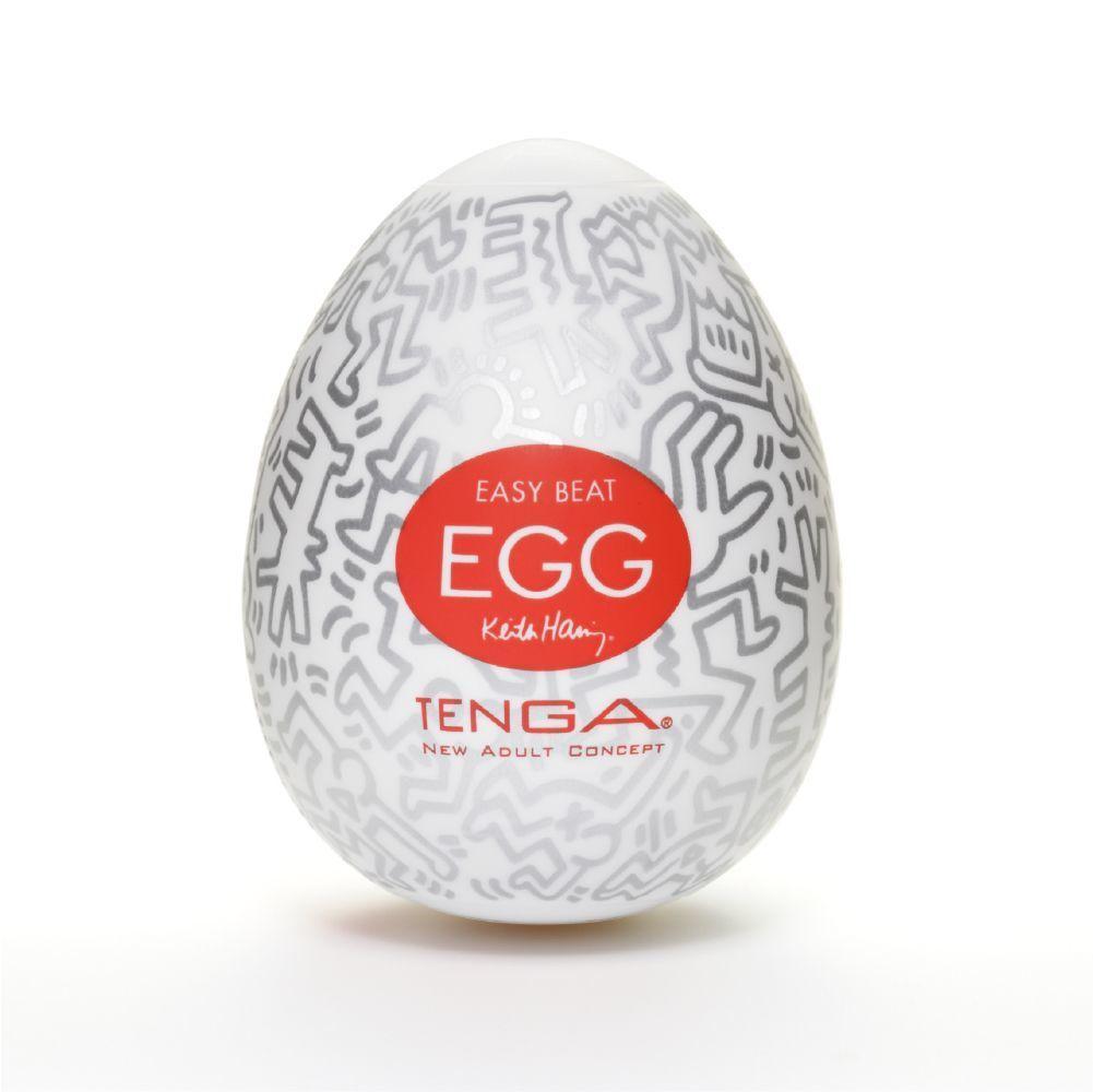Мастурбатор яйцо Tenga Keith Haring EGG Party