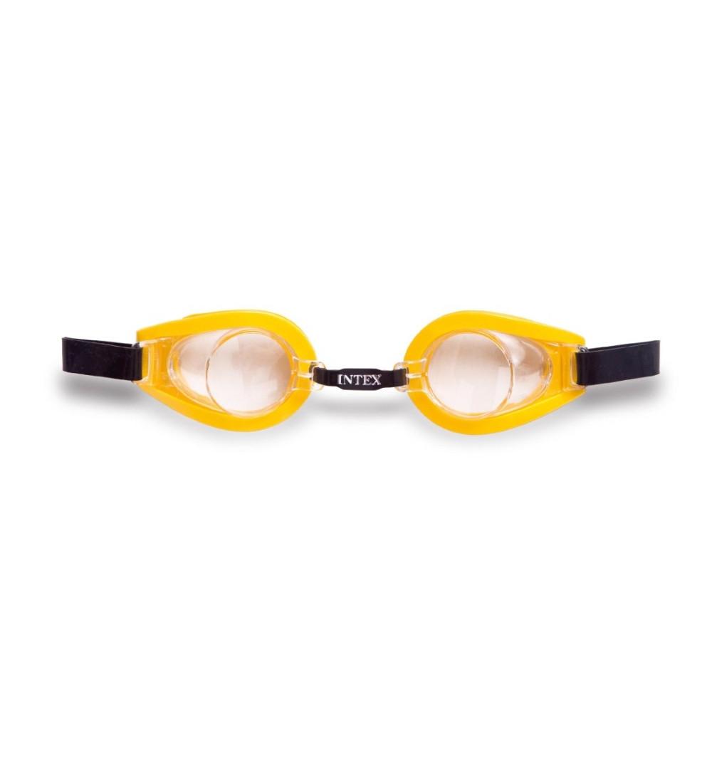 Очки для плавания  Intex 55602 с защитой от УФ-лучей гипоаллергенные Желтый (int55602-2)