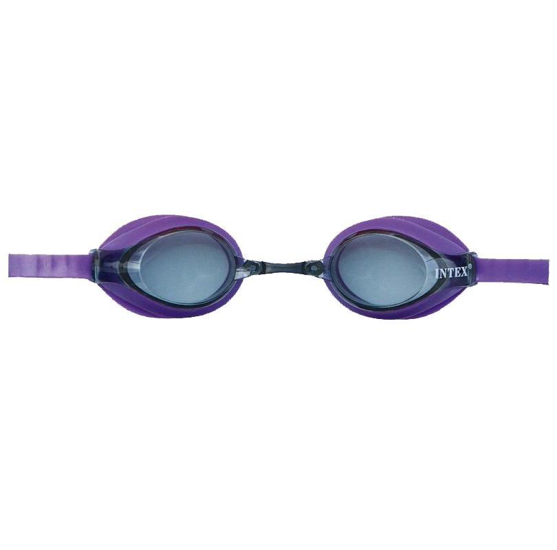 Детские очки для плавания Intex 55691 гипоалергенные Сиреневый (int55691-2)