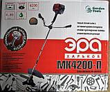 Бензокоса Ера МК 4200-П 4 насадки + ремень-рюкзак. Мотокоса Ера, фото 6