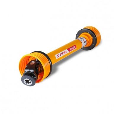 Вал карданный (6 х 8) (L=710-1200мм) 400Н*м (косилки роторной кр-1,65)  4R-305-4-BA-302