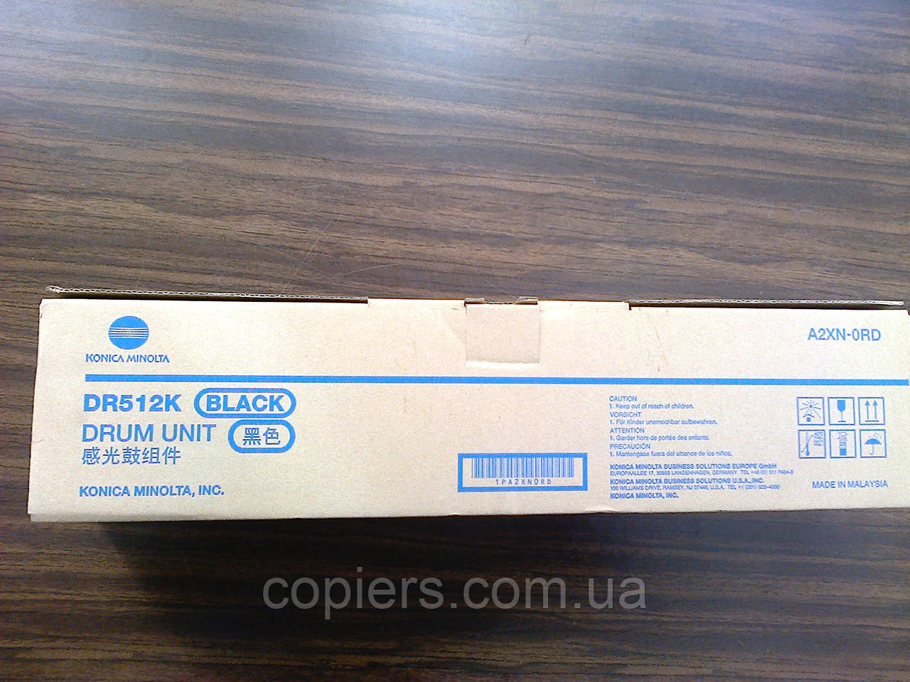 DR512 K фотобарабан Drum Unit  Konica Minolta Bizhub c224/c284/c364/c454/c554, A2XN0RD, dr-512 k