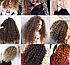 Плойка для волосся дрібні афрокудри 9 мм африканські кучері Kemei Km-1023 червоний, фото 3