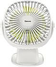 Вентилятор-прищепка портативный BASEUS Box Clamping Fan 360. Аккумуляторный вентилятор с прищепкой, фото 7