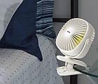 Вентилятор-прищепка портативный BASEUS Box Clamping Fan 360. Аккумуляторный вентилятор с прищепкой, фото 2