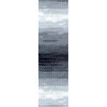 Пряжа для вязания Бургум батик 1900