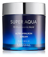 Увлажняющий крем для лица MISSHA Super Aqua Ultra Hyalron Cream 70 мл