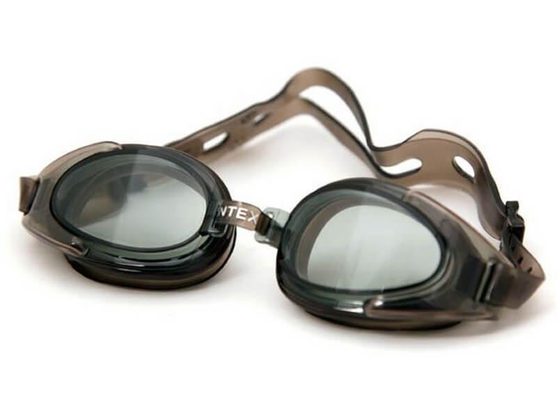 Очки для плавания Intex 55685 Water Sport Goggles Черные (int_55685-1)