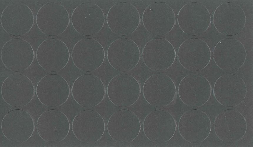 Заглушка самоклеющаяся на минификс Folmag 058 Серый графит темный