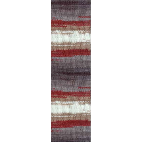Пряжа для вязания Бургум батик 3376