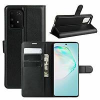 Чехол Luxury для Samsung Galaxy S10 Lite (G770) книжка черный, фото 1