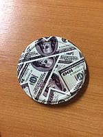 Крышка закручивающаяся твист офф 82 мм доллар