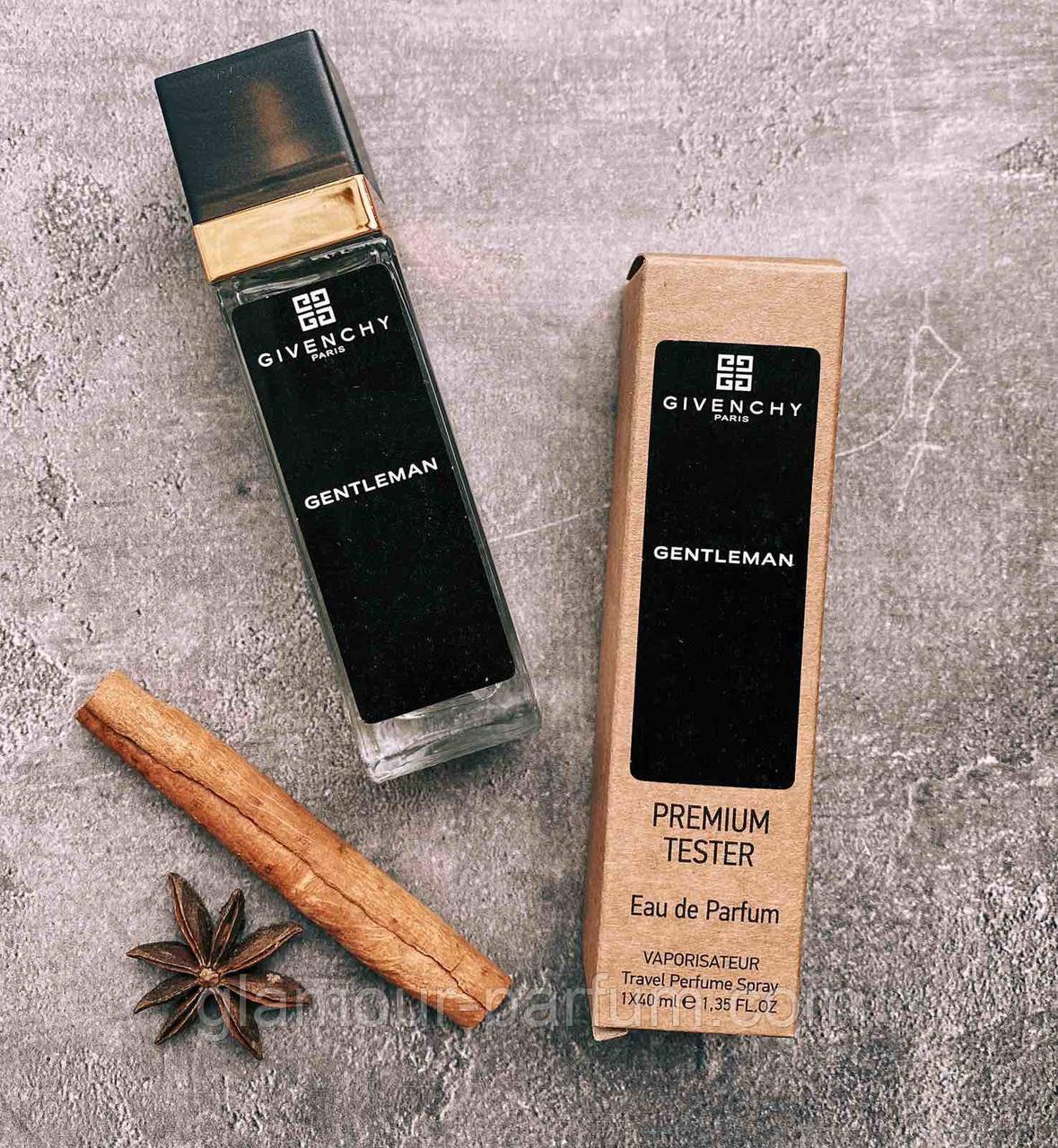 TESTER чоловічий міні-парфум Givenchy Gentleman (Живанши Джентельмен) 40мл репліка ОПТ