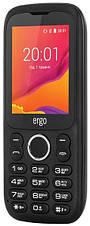 Мобільний телефон ERGO F241 Talk Dual Sim (чорний), фото 3