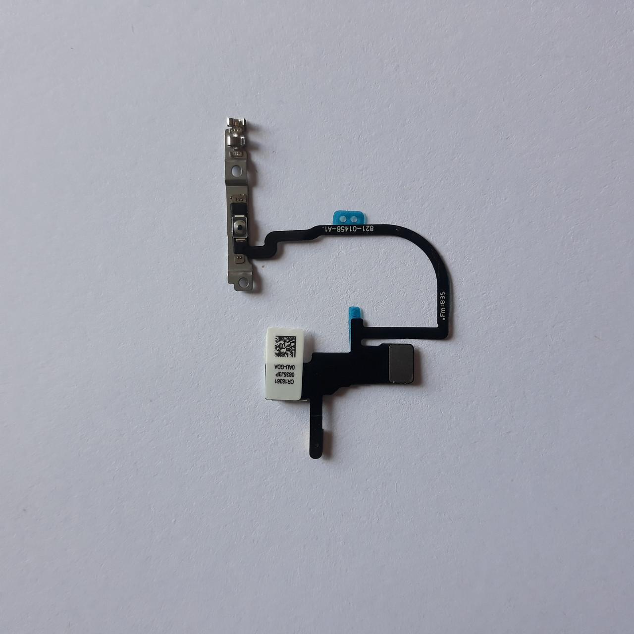 Шлейф Apple iPhone XS кнопки включення