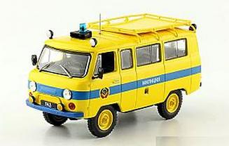 Автолегенды Милиция №8 УАЗ-452В Милиция  | Спецвыпуск коллекционная модель 1:43 | Деагостини