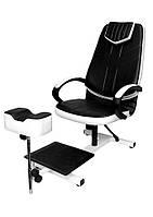 Кресло педикюрное Клео-2 с педикюрной подножкой