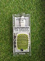 Расческа для волос Janeke Superbrush light green and white