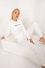 Спортивный костюм женский Ситула цвет светло-молочный
