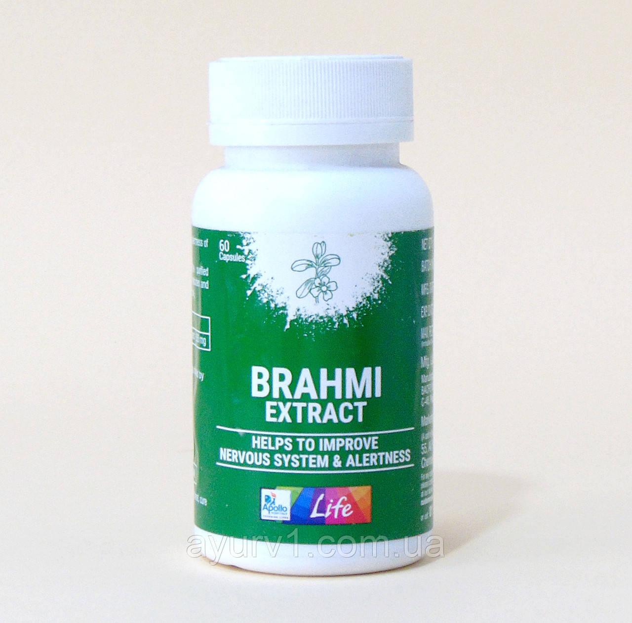 Брами Экстракт в капсулах, Аполло  / Brahmi Extract, Apollo / 60 кап.